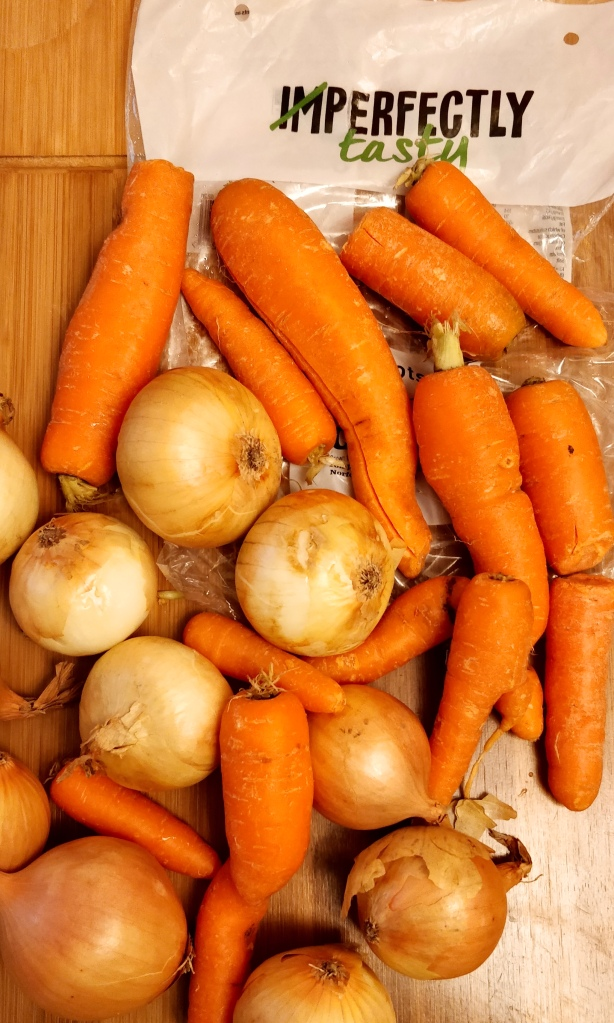 imperfect vegetables, food waste